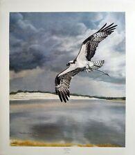 """Charles Fracé """"Safe Return""""  Osprey print LMT ED S/N (619/3000) COA"""