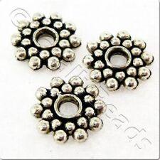 Nickel Flower Jewellery Making Beads