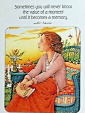 Mary Engelbreit Handmade Magnet-Sometimes You Will Never Know