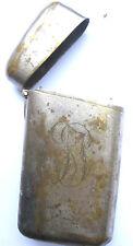 ANCIEN BOITIER A CIGARETTE FB OLD CIGARETTE BOX Zigarettenetui 烟盒。 portasigarett