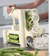 Taglierina Verdure in A spirale e Noodle Lame Intercambiabili Lurch Ventose