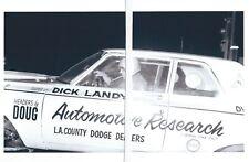 1960s Drag Racing-DICK LANDY's 1964 Dodge 330 426 HEMI Super Stock/Automatic