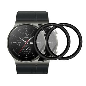 (2 Pack) Full Cover Screen Protector For Huawei Watch GT 2 Pro