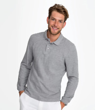 SOL'S Winter II Long Sleeve Cotton PiquÚ Polo Shirt