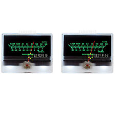 2pcs Tn 90a Vu Meter Db Level Header Audio Preamp Power Amp Chassis Backlight