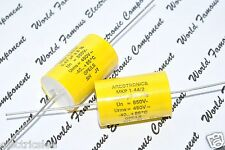 1pcs- ARCOTRONICS 0.47uF (0,47µF) 850V 5% MKP 1.44/2 Axial Capacitor 20x32mm