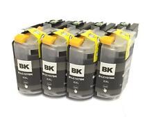 4PK BK New Chip LC107BK XXL Ink Cartridge For Brother MFC-J4510DW /4610DW/4710DW