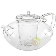 Théière et filtre en verre Escale Sensorielle thé infusion tisane