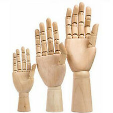 Wooden Hand Puppet Artists Model Art  Wood Sculpture Sketching Tool