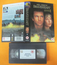 VHS film BRAVEHEART Mel Gibson BOX CARTONATO inglese FOX 08908SP (F137) no dvd