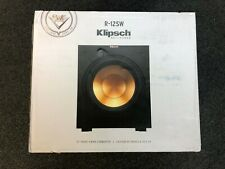 Klipsch R-12SW Reference Powered Subwoofer - Used