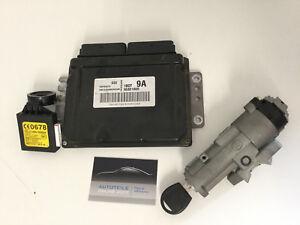 Chevrolet Matiz Motorsteuergerät Set Schlüsssel Zündschloss Lesespule 96801800