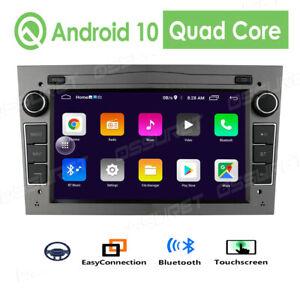 DAB+Autoradio Android 10.0 für Opel Astra H Corsa C/D Vectra C Zafira B Vivaro