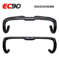 EC90 Road Bike Handlebar Carbon Fiber Bicycle Drop Bar Cycling 31.8*400-440mm