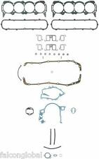 Buick 400 430 455 Fel Pro Full Gasket Set Head+Oil Pan+Exhaust+Rear Main 1967-76