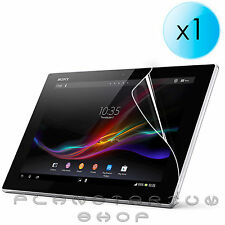 "1 by PROTECTOR of SCREEN LCD TRANSPARENT FOR SONY XPERIA TABLET Z 10.1"" C6907"