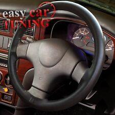 Para LTI TAXI TX2 Negro de cuero genuino real 100% natural cubierta del volante