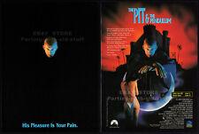 PIT AND THE PENDULUM__Orig. 1991 Trade print AD promo__STUART GORDON__Full Moon