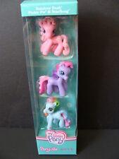 NEW My Little PONY Ponyville 3 Pack Ponies Rainbow Dash Pinkie Pie StarSong NIB