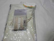 New Anthology SILO Rod Pocket Window Panel 54x95 ~ Natural & Brown New