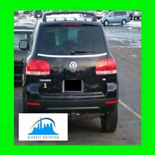04-10 VW Volkswagen Touareg Chrome Coffre Hayon Garniture Moulure 05 06 07 08 09