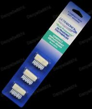 3 x ULTRASONEX replacement BRUSH HEADS BH03A brushheads