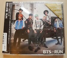 BTS RAP MONSTER RM signed RUN JPN/Japan ver Regular edition CD no photo card