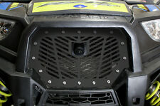 Custom Steel Grille for RIDE COMMAND Polaris RZR 1000 XP 17 UTV Grill V-STRIPES