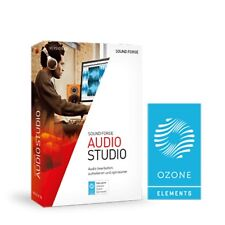 MAGIX Sound Forge Audio Studio 12 Software (Download)