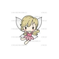 FAIRY CHLOE-The Greeting Farm Cling Rubber Stamp-Stamping Craft-RETIRED