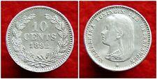 Netherlands - 10 Cent 1892 in Schitterende Kwaliteit