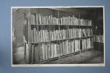 R&L Postcard: Hereford Cathedral Library, Antiquarian Books 1928