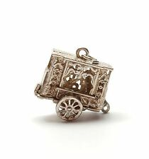 Rare Vintage 925 Sterling Silver PUNCH AND JUDY SHOW Charm 4.4g