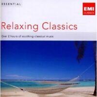 ESSENTIAL RELAXING CLASSICS; BACH MOZART BEETHOVEN VIVALDI 2 CD 35 TRACKS NEU