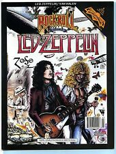 LED ZEPPELIN 1991 Revolutionary Rock Comic Book Magazine; March 91; 1st Print EX