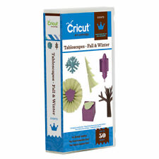 *New* TABLESCAPES FALL & WINTER Decor Cricut Cartridge Factory Sealed Free Ship