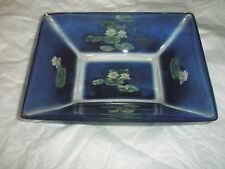 Globel Monet Evening Flower Bowl - New # 124102 Blue