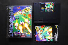 VIEWPOINT View Point SNK Neo Geo AES Very.Good.Condition (Manual/used) JAPAN