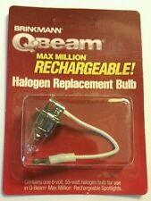 Brinkmann Q-Beam Max Million Rechargeable Halogen Replacement Bulb NEW