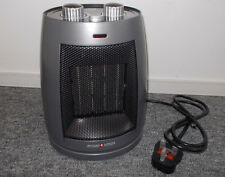 Electric Low Wattage Swiss Luxx Compact Swivelling Ceramic Fan Heater