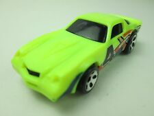 Hot Wheels Mattel, Inc. 1982 Camaro #4 Crossover Made in Malaysia (Loose Item)