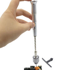 Semi-Automatic Hand Drill Jewelry Micro Mini Spiral Hand Push Drill Manual Drill