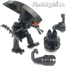 Lego Alien Queen Custom Xenomorph Prometheus Minifigures with Egg & Huggers NEW
