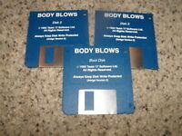 "Body Blows - Commodore Amiga 3.5"" floppy disks"