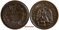 "MEXICO 1897 CN 1 Centavo Small ""N"" Mintage-300,000 Culiacan Mint KM#391.1(14536)"
