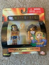 Dc Direct Minimates Wonder Woman + Cheetah~Series 6~200 New