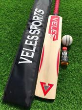 Custom Made English Willow Cricket Bat Grade 1st Full Size cricket Bat+Bat Oil.