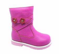 Children kids shoes. Autumn / Winter boots for baby girl orthopedic.