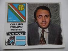 Scudetto FIGURINA Calciatori Panini 72-73 1972-1973  N. 224 FERLAINO NAPOLI