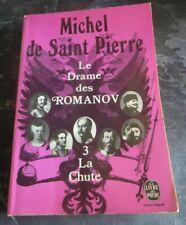 10934 Le drame des Romanov de Michel de Saint Pierre – La Chute – Tome 3 - Livre